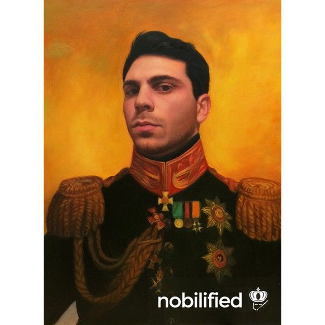 Pavel V. Golenishchev Kutuzov -  Original painting by George Dawe  Commission your own masterpiece for just 99$ at nobilified.com