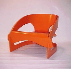 4801 easy chair by Joe Colombo for Kartell.