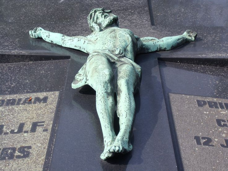 A very nice cross at a cemetary in Tilburg, The Netherlands