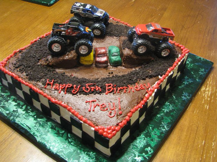 monster jam cakes - Google Search
