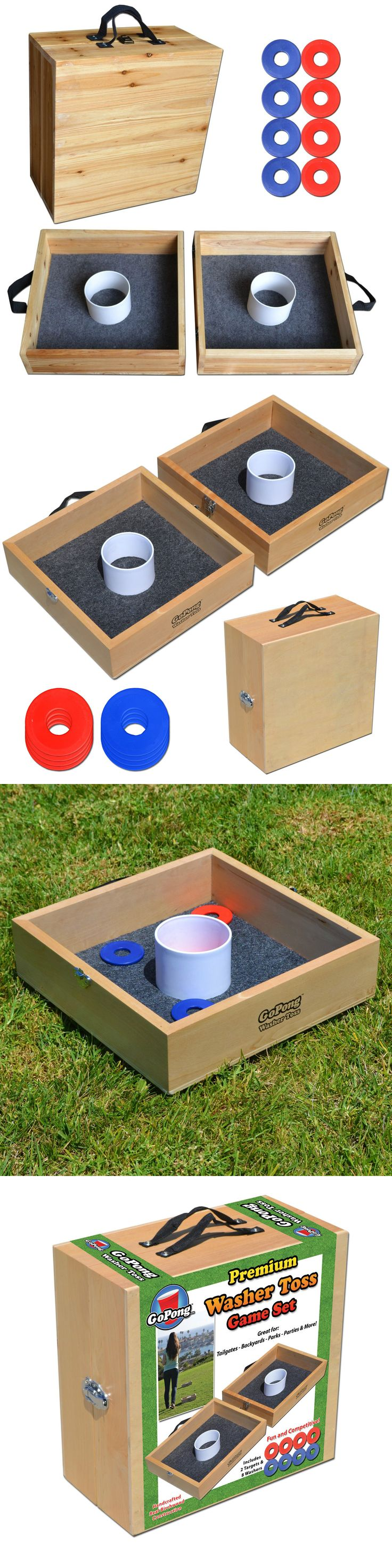 Other Backyard Games 159081: Premium Wood Washer Toss Game (Birch Wood) BUY IT NOW ONLY: $49.99