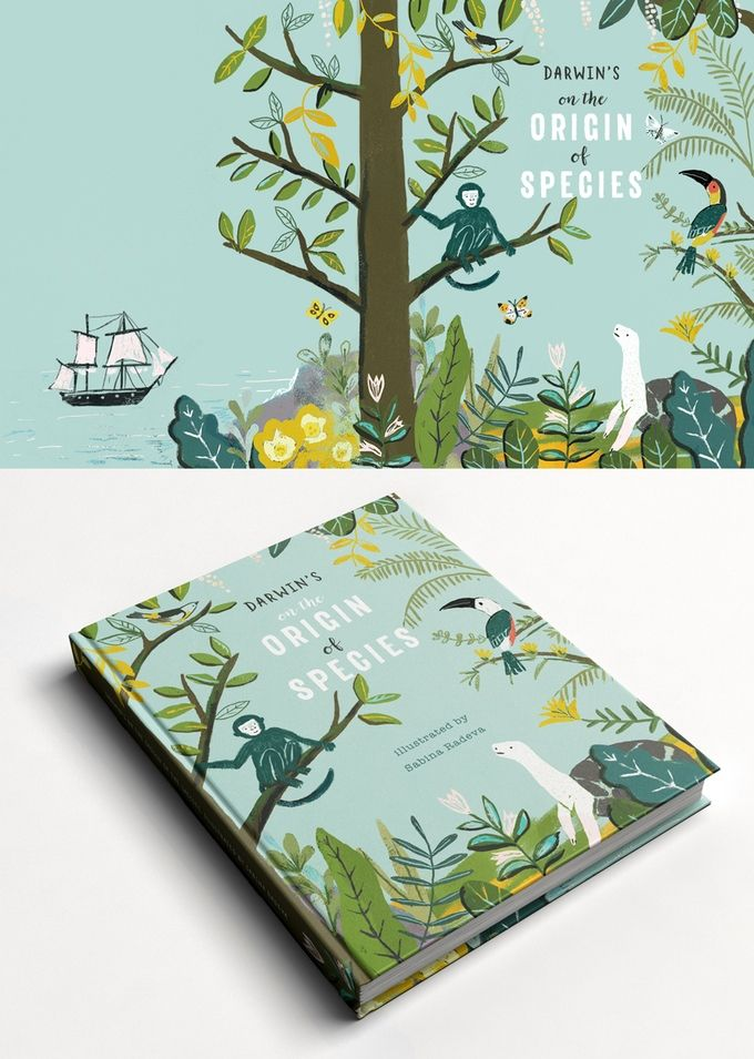 Darwin's On the Origin of Species: A Picture Book Adaptation by Sabina Radeva — Kickstarter