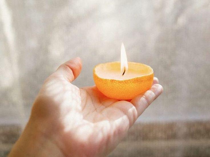 Kostenlose Anleitung: Zitrus-Kerzen selbst gießen / free diy tutorial: selfmade candle with citron via DaWanda.com