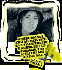 Oriana Fallaci: Essere Donna