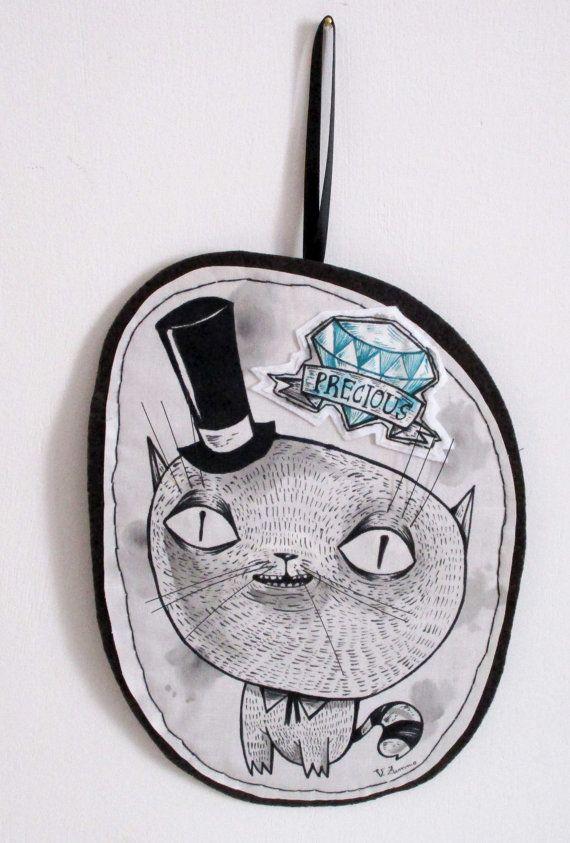 Dandy CAt fabric plush softie play/decoration di ValentinaZummo