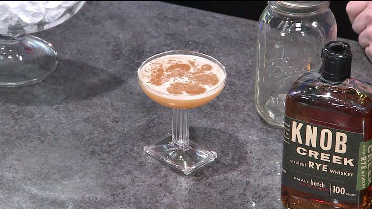"INDIANAPOLIS, Ind. (December 20, 2014) -- These three recipes are in the running to become Indiana's official cocktail: Eli Sanchez from Pure Eatery – ""The End""   > 2 oz Knob Creek > .5 oz Punt e Mes > .5 oz Frenet-Branca > 1 spoonful Wilks & Wilson Orgeat > 2 dashes Bitterman's Orchard Street Celery Shrub"