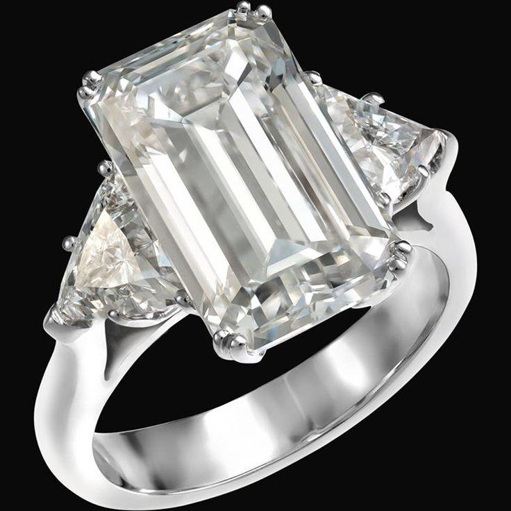 Exceptionnel Oltre 25 fantastiche idee su Diamanti a taglio smeraldo su  XN41