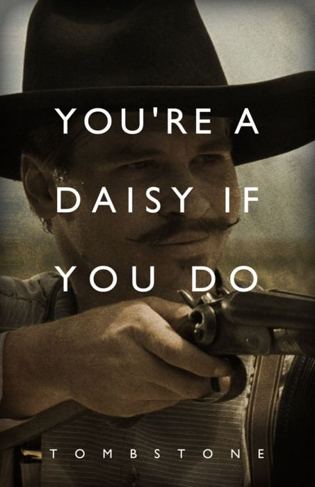 "cowboys in the movies | Photo: We love Doc Holliday in ""Tombstone!""For more on the movie and a ..."