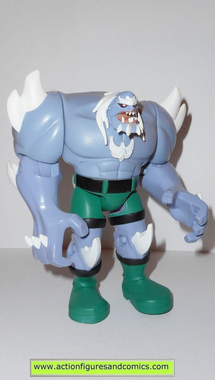 mattel JUSTICE LEAGUE UNLIMITED (dc universe animated) DOOMSDAY Condition: overall excellent - displayed only/collectable condition figure size: 4 1/2 inches ------------------------------------------