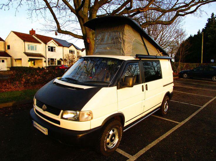 eBay: Volkswagen TRANSPORTER CARAVELLE pop top four berth campervan for sale #vwcamper #vwbus #vw