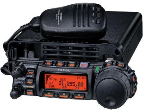 Yaesu FT-857D Amateur Radio Transceiver – HF, VHF, UHF All-Mode 100W Remote Head Capability