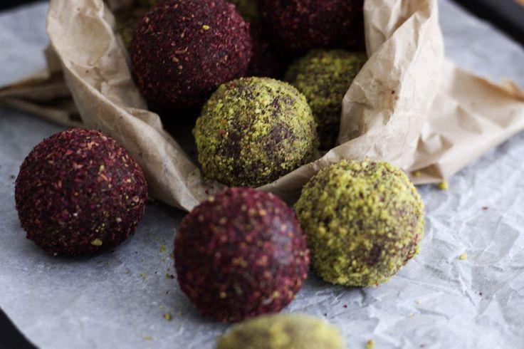 turkish delight balls, gluten free, healthy, dairy free, vegan, vegetarian,