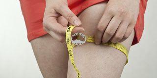 männlich.: Frauen haben kurze, aber dicke Beine.