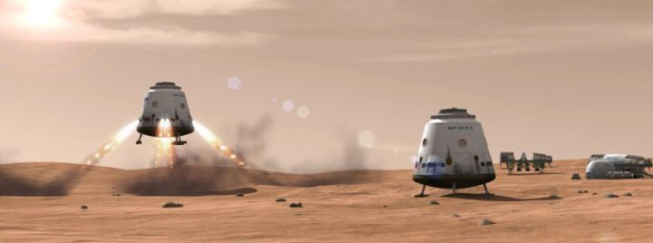 "SpaceX's Mars Colonial Transporter can go ""well beyond"" Mars — TechCrunch"