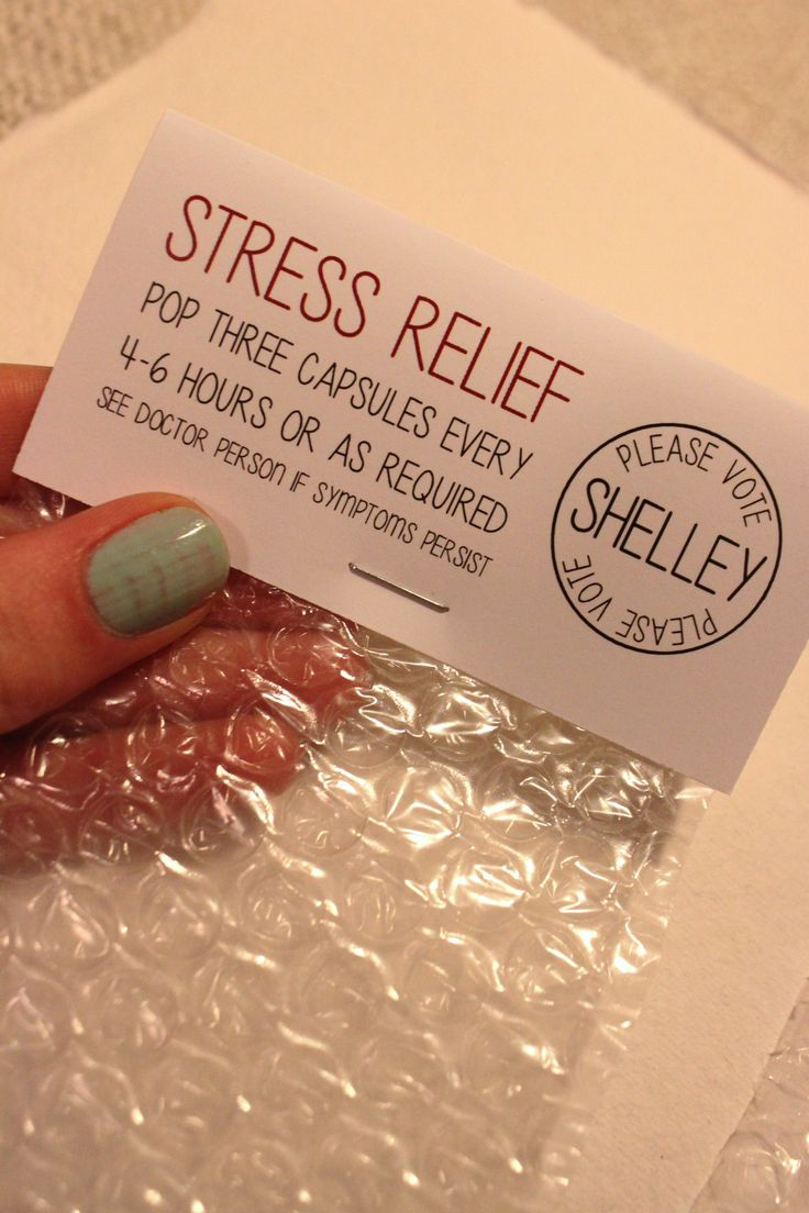 #DIY Stress Relief Bubble Wrap