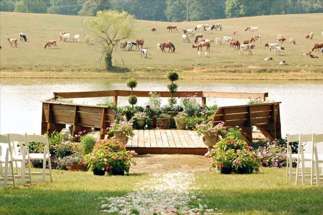 Taylor ranch ceremony site asheville nc mountain venues for Wedding venues in asheville nc
