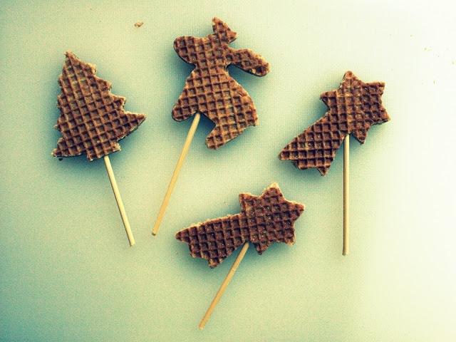 cakeje van eigen deeg: Stroopwafel cupcake toppers