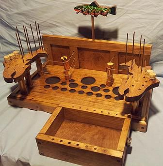 The Laurel Fork Fly-Tying Desk from Mountain Creek Anglers (Creeknuts)