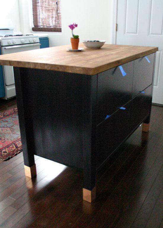 Best 25 ikea island hack ideas on pinterest ikea hack kitchen kitchen island breakfast bar - Kitchen work tables ikea ...