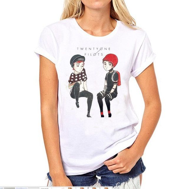 pilot rock women Show your fandom for twenty one pilots by wearing one of many t-shirts offered in the official twenty one pilots store shop today.