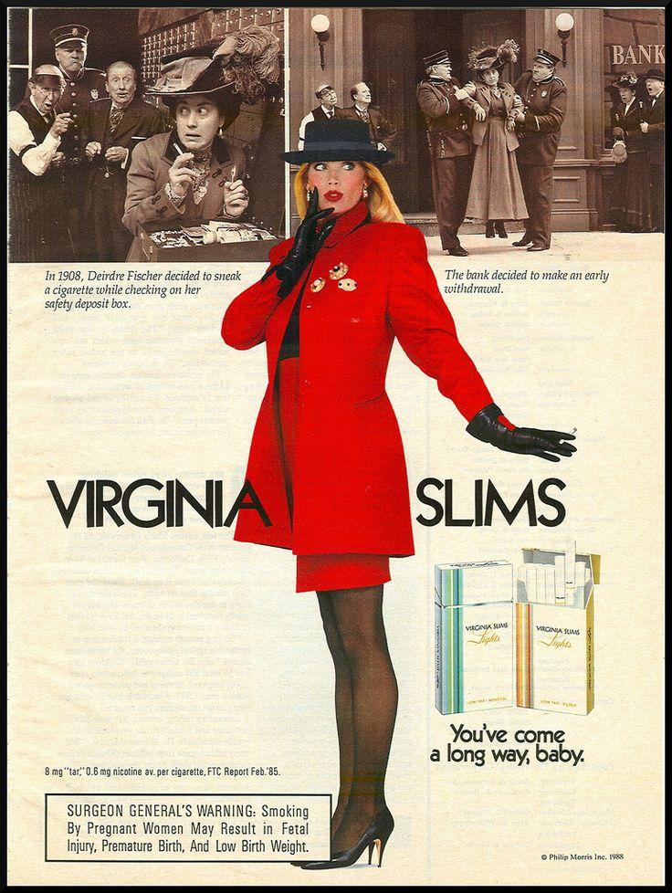 .: Vintage Posters, Signs Virginia, 80S, Vintage Ads Posts, Virginia Slim, Advertising Smok, 1988 Virginia, Smoke Virginia, Vintage Advertising Signs