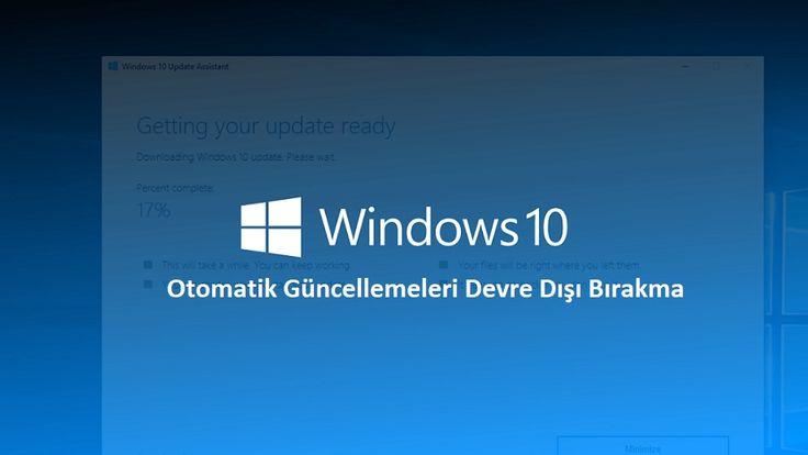 Windows 10 Otomatik Güncelleme Kapatma   Devamı İçin:  https://www.pcbilimi.com/windows-10-otomatik-guncelleme-kapatma/  güncelleme kapatma, microsoft, update kapatma, Win 10, Win10 güncelleme kapatma, Windows 10, windows 10 güncelleme, windows 10 güncelleme kapatma   Windows