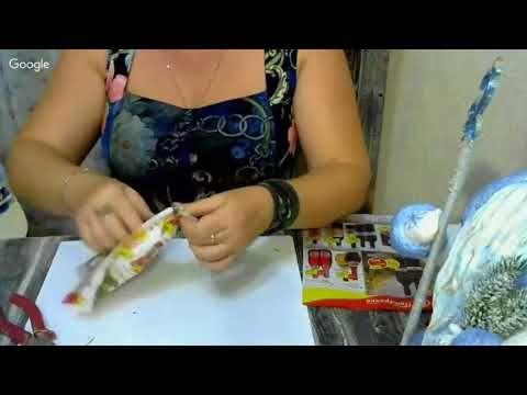 Елена Васько. Ватные игрушки. Земляная желтая собака 2018год. 6.09.17 - YouTube