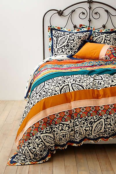 Anthropologie - Florence Duvet. This goes beautifully with my Gustav Klimt print!!!
