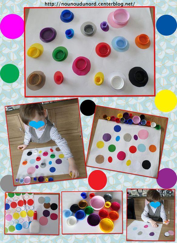 Activité pour bien reconnaître les couleurs