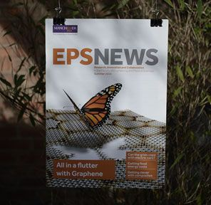 EPS News magazine for The University of Manchester. We wrote and designed the whole publication.