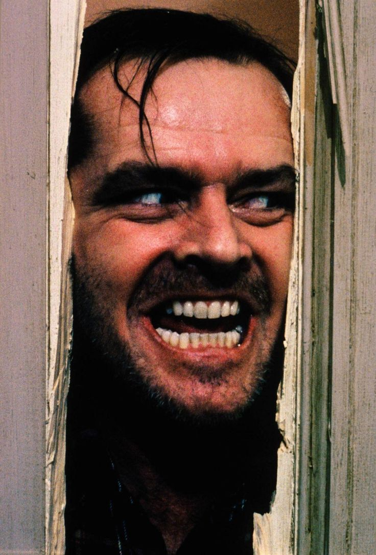 best images about horror movies the exorcist jack nicholson as jack torrance from stephen king s the
