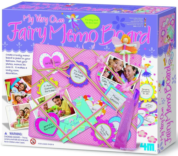 My Very Own FAIRY MEMO Board; 4M Kit