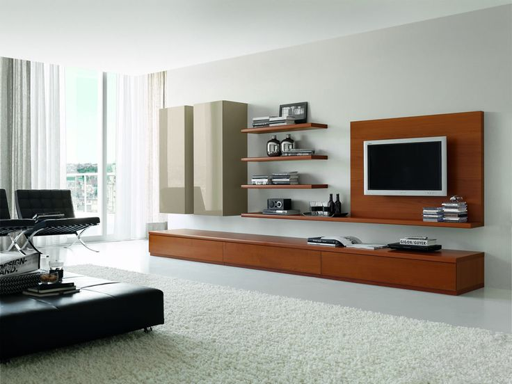 Wood Wall Units For Living Room Dark Brown Curtains Tv Stand Shelving Sunco Furniture Cabinet Unit Designs