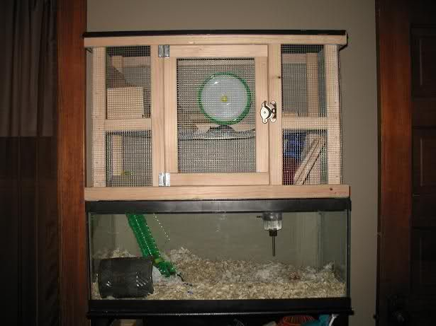 DIY Cage Topper--Pics are Here! | The Gerbil Forum