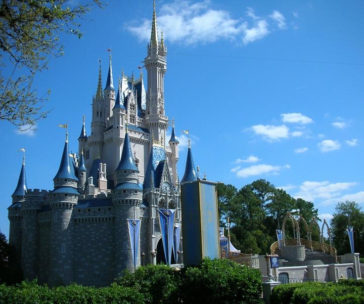 Disney Castle at Disney World