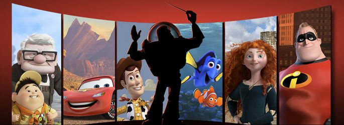 """Pixar in Concert"" by the Hollywood Bowl Orchestra. Wish I could go!"