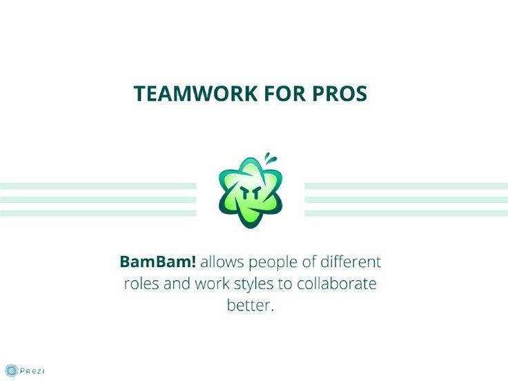 BamBam! - Teamwork for Pros