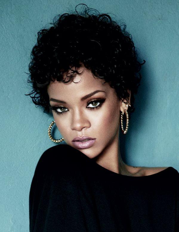 Rihanna Wears Her Own MAC Makeup Line In %u2018Glamour%u2019