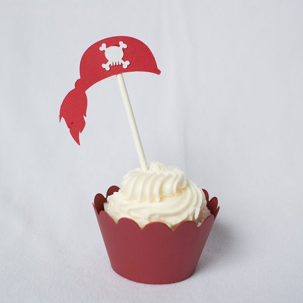 12 Pirate Cupcake Toppers | Piece of Cake Parties