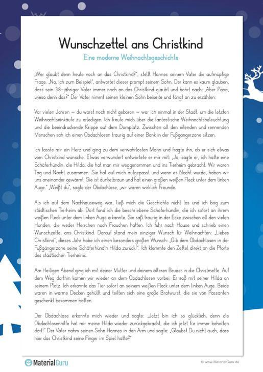 Weihnachtsgeschichten Kostenlos