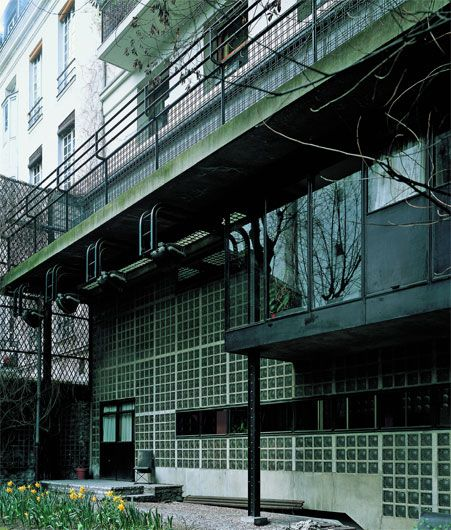 17 best images about la maison de verre pierre chareau on - Maison de verre paris visite ...