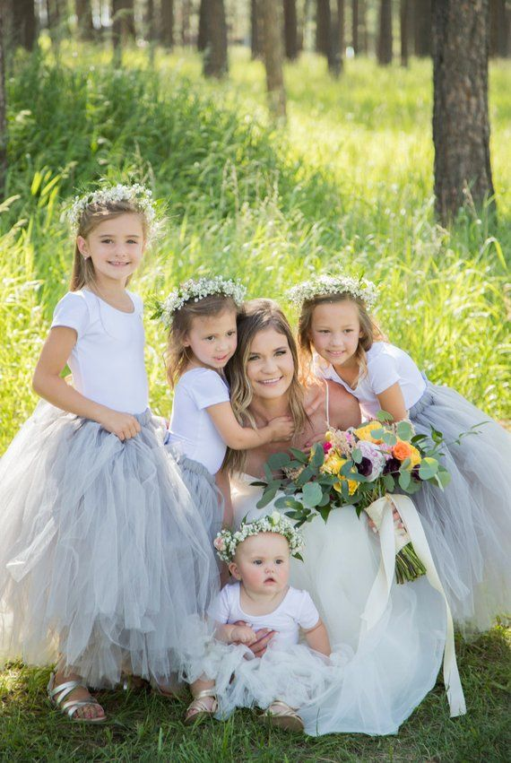 Tutu Long White Tutu Tutu Flower Girl Dress Flower Girl Tutu Girls Tutu Wedding Tutu Adult Tutu White Tutu Tulle Skirt