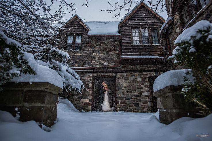 Winter Wonderland - WedLuxe Magazine   Winter wedding ...