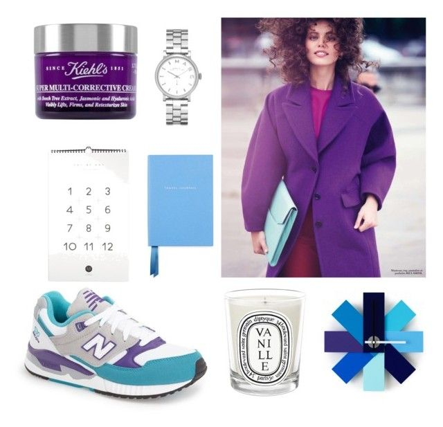 NB by julimatveeva on Polyvore featuring мода, New Balance, Marc by Marc Jacobs, Kiehl's, Smythson and Diptyque