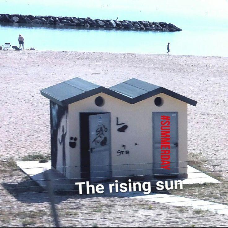#summerday rising sun