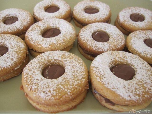 Biscotti alla nutella, scopri la ricetta: http://www.misya.info/2011/05/09/biscotti-alla-nutella.htm