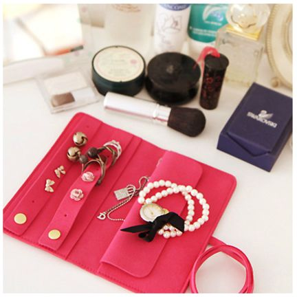 Best 25 Jewelry pouches ideas on Pinterest Luggage store