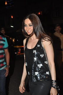 Karisma Kapoor at Midnight Mass on Christmas Eve.
