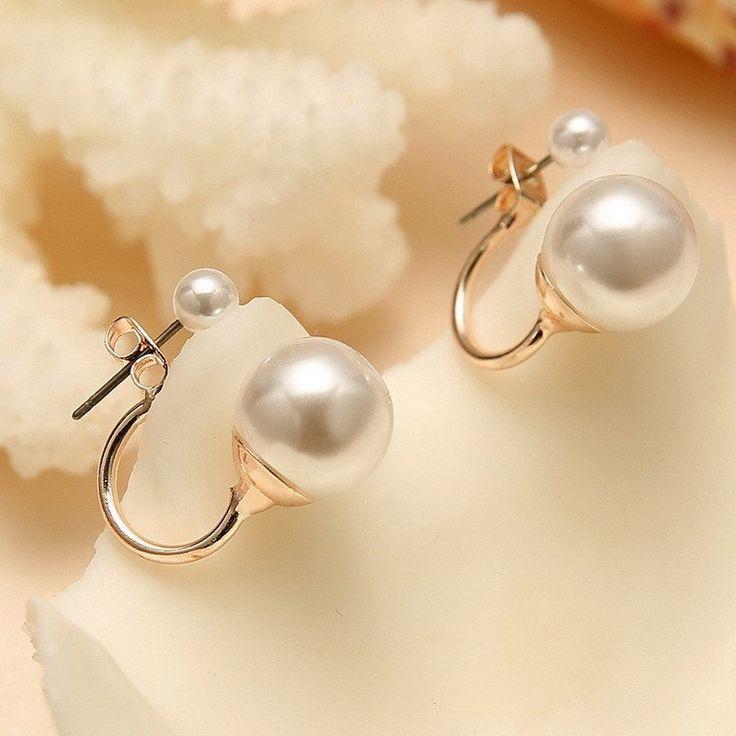 Best 25+ Double pearl earrings ideas on Pinterest | Dior ...