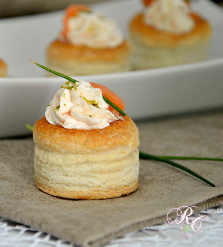 Vol-au-vent al salmone  http://blog.giallozafferano.it/rafanoecannella/vol-au-vent-al-salmone/